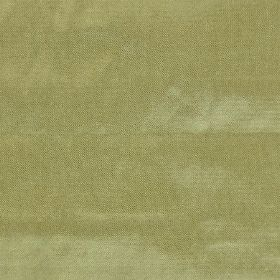 Saturn - Green - Soft, light green coloured plain fabric