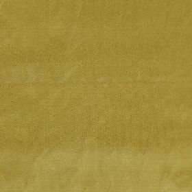 Saturn - Gold - Fabric in a solid, unpatterned shade of yellowy green