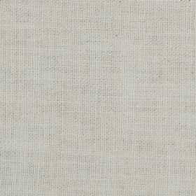 Carnac - White - Fabric made from a very light grey coloured blend of linen, cotton and viscose