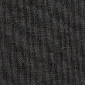 Carnac - Black Grey - Coal black coloured linen, cotton and viscose woven together into a plain, versatile fabric