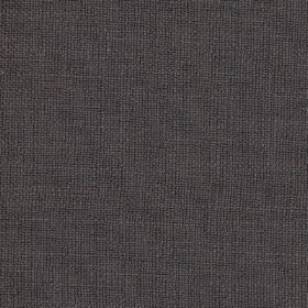 Carnac - Charcoal Grey - Linen, cotton and viscose blend fabric made in a very dark shade of blue-black