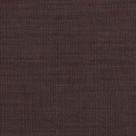 Carnac - Expresso Brown - Fabric made from linen, cotton and viscose in a very dark shade of grey, featuring a very subtle hint of dark purp