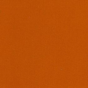 St Malo - Orange - Plain dark orange coloured fabric made with a 100% cotton content
