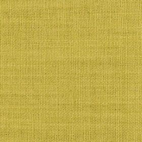 Carnac - Bambus Green - Fabric made from a blend of linen, cotton and viscose in a light, creamy shade of yellow