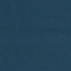 St Malo - Blue - A dark marine blue colour covering indulgent 100% cotton fabric