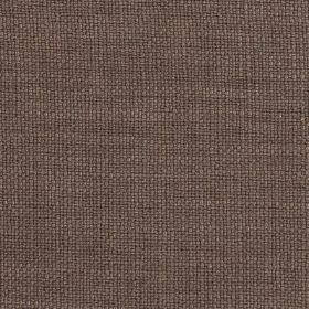 Carnac - Brown Taupe - Dark purple-grey coloured fabric made with a mixed linen, cotton and viscose content