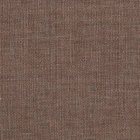 Carnac - Light Brown - Dusky purple coloured linen, cotton and viscose blend fabric finished with a very subtle grey tinge