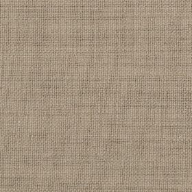 Carnac - Sand Natural Brown Taupe - Light shades of purple and grey combined to create a plain, fresh, contemporary fabric made from linen,