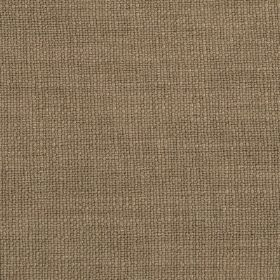 Carnac - Sahara Brown Natural Taupe - Cream and dark brown-grey coloured threads woven together into a linen, cotton and viscose blend fabri