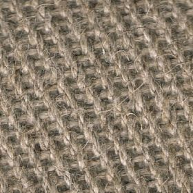 Zermatt - Stone Wall - Rough beige-grey coloured threads which have been woven into a linen fabric