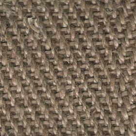Zermatt - Mongoose - Linen fabric with light brown coloured woven detail