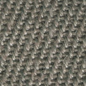 Zermatt - Mountain Mist - Woven linen fabric which has steel grey coloured thread detail