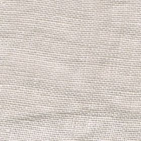 Visp - Silver Mist - Chalk white coloured fabric which has been woven from linen threads