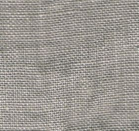Visp - Dove - Matt grey and white coloured woven linen fabric