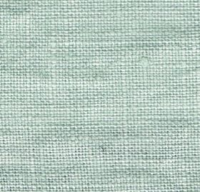 Visp - Duck Egg - Woven linen fabric in a very pale shade of peppermint green