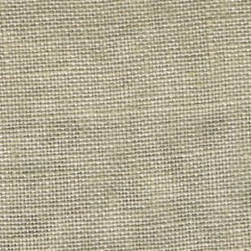Visp - Taupe - Light green-grey coloured woven linen fabric