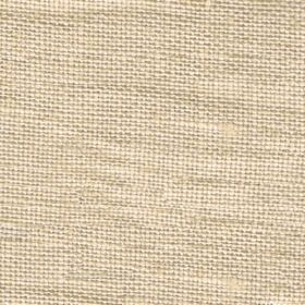 Visp - Buff - Linen fabric which has been woven in a warm cream colour