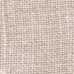 Duck Weave - Sandstone - Linen fabric which has been woven with threads in beige and cream of uneven thicknesses