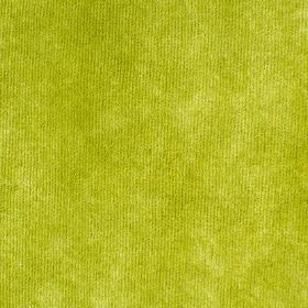 Syvota - 322 - Bright, lime green coloured fabric with a soft texture but no pattern