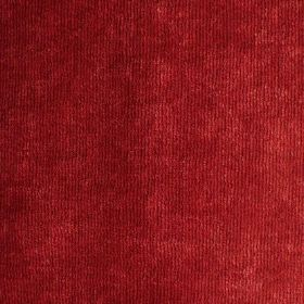Syvota - 137 - Bright red coloured fabric with a velvety texture