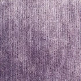 Syvota - 840 - Lavender coloured corduroy effect fabric with a velvety soft texture
