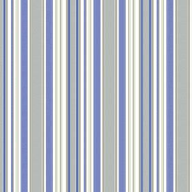 Patience Stripe - Ink - Different shades of mauve, grey and white making up the striped pattern for this fabric
