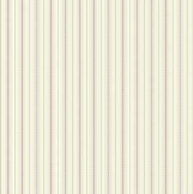 Nina - Ivory - Fabric with a regular, repeated striped design in cream, light green and purple
