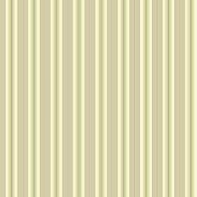 Evelyn Stripe - Buttercup - Striped fabric in yellow, cream and beige colours