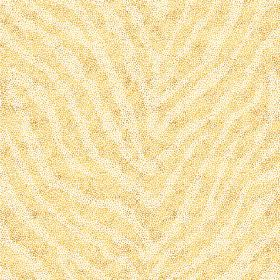 Zebra Spot Large (Linen Union) - 3 - Zebra stripes in yellow and cream colours covering this linen fabric