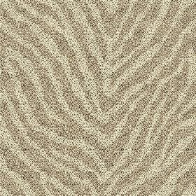 Zebra Spot Large (Linen Union) - 5 - Animal stripe print linen fabric in two different shades of green-grey