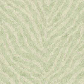 Zebra Spot Small (Cotton) - 8 - Zebra stripes in two very pale shades of green, printed onto cotton fabric