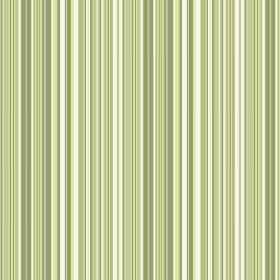 Florece Stripe (Linen Union) - 3 - Striped linen fabric in shades of bright, light green and white