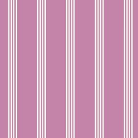 Tretower (Linen Union) - 7 - Bubblegum pink and white stripes printed on linen fabric