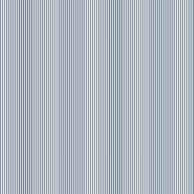 Tunbridge Wells (Linen Union) - 1 - Linen fabric with narrow, vertical stripes in different shades of blue, which gives an optical illusion