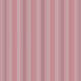 Tunbridge Wells (Linen Union) - 2 - Very narrow pink, red and white stripes printed on linen fabric