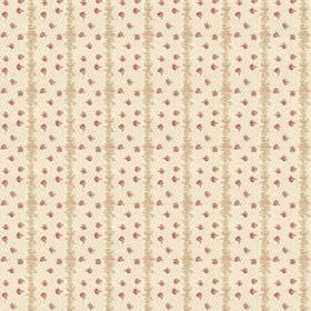 Ballet (Cotton) - 1 - Beige and cream coloured cotton fabric flecked with dark red coloured specks