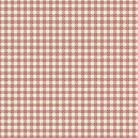 Fiorentina Check (Linen Union) - 1 - A simple checked design in cream and brown printed on linen fabric