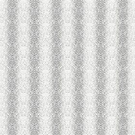 Martine (Linen Union) - 2 - Linen fabric with light grey and white stripes with undefined edges