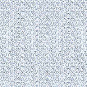 Amalia (Cotton) - 3 - Speckled cotton fabric in white and different shades of blue