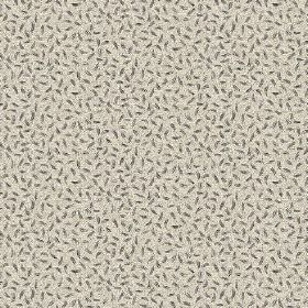 Sissy (Linen Union) - 1 - Tiny dark grey flecks printed on light grey-cream coloured linen fabric
