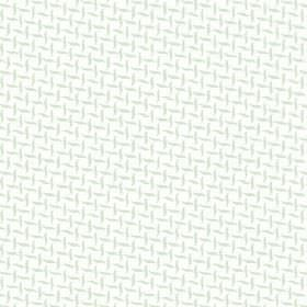 Maria (Cotton) - 2 - White cotton fabric printed with a pattern of wavy grey lines in alternating directions