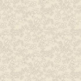 Camilla (Cotton) - 1 - Grey-cream cotton fabric with a very subtle pattern