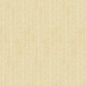 Plover (Cotton) - 1 - Cotton fabric in a creamy gold colour, with a very subtle pale cream stripe
