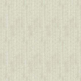 Plover (Cotton) - 4 - Light grey coloured cotton fabric with a very subtle white pinstripe