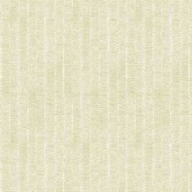 Plover (Cotton) - 5 - Pale cotton fabric which looks as though the green colour has faded slightly, with narrow white stripes