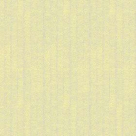 Plover (Cotton) - 7 - Fabric made from citrus coloured cotton, with a pattern of very narrow grey stripes