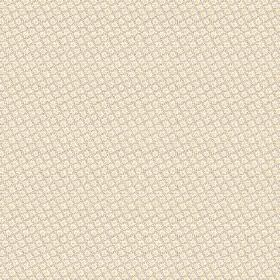 Lierre (Cotton) - 1 - Cotton fabric which is mostly cream in colour, with a very tiny beige coloured check pattern