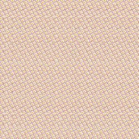 Lierre (Linen Union) - 5 - Miniscule checks and dots patterning this linen fabric in white, pale pink and yellow