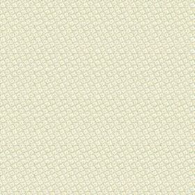 Lierre (Linen Union) - 6 - Very subtly patterned grey, white and yellow checked and dotted linen fabric