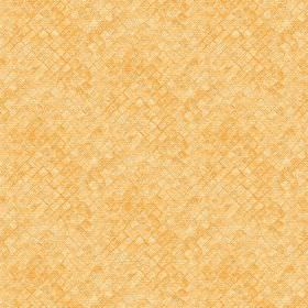 Raphia (Cotton) - 5 - Honey coloured squares which look textured printed onto cotton fabric